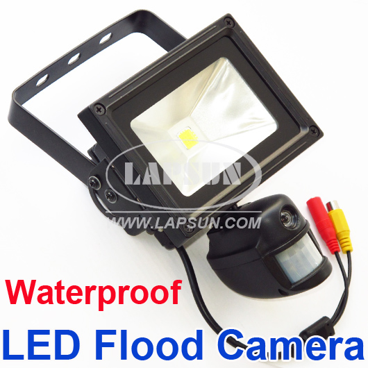 PIR IR 720P HD Video Recorder Motion Camera DVR 10W Auto Flood Light LED Lamp