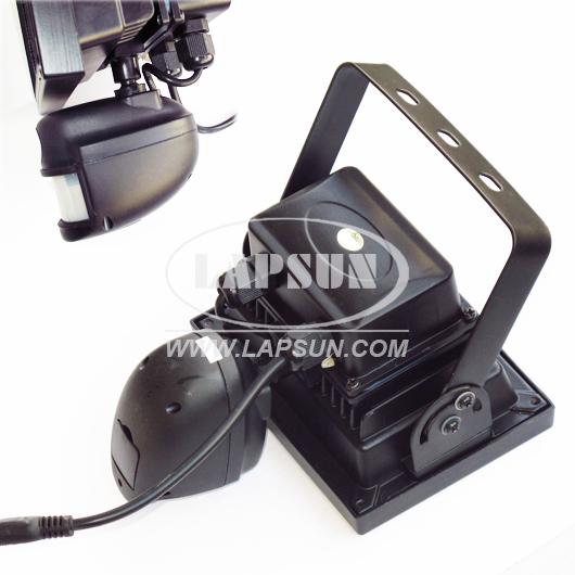 Flood light pir camera : Pir ir p hd recorder motion camera dvr w auto