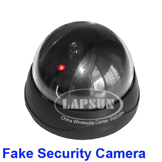 Dummy Fake Joke Home CCTV Security Camera Realistic Looking Red LED Light #4