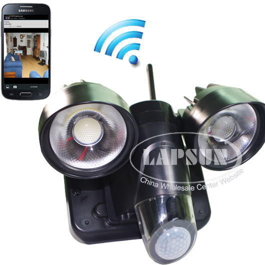 HD WIFI DVR Waterproof Spy LED CCTV Camera PIR Motion Activated F iPhone/Android
