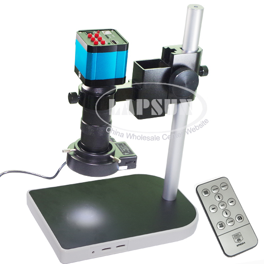 14MP HDMI USB Industrial Microscope Set Camera C-mount Lens Video Recorder