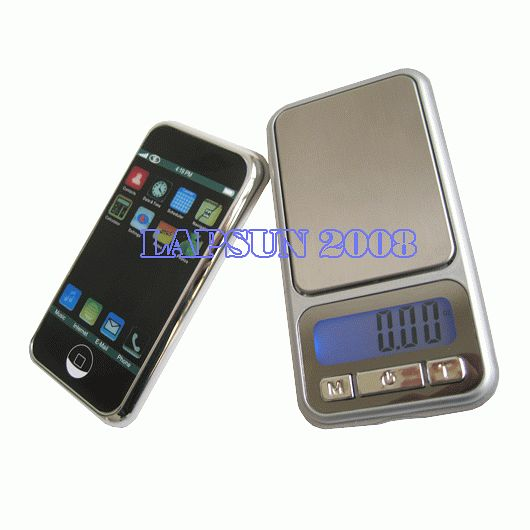 0.1-800g 4-Model Jewelry Digital Pocket Scale