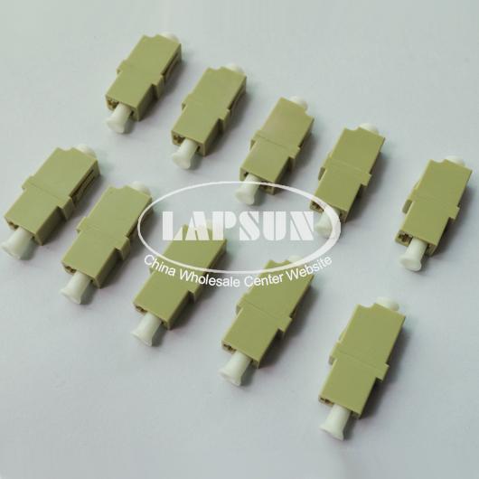 10pcs LC to LC /PC Multimode Simplex Coupler Fiber Optic