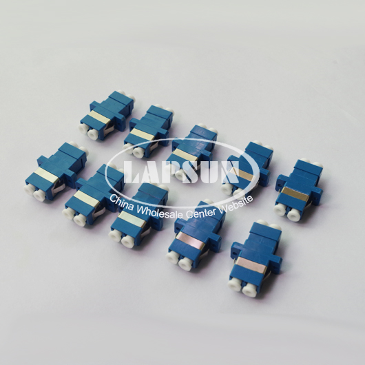 10pcs LC to LC /PC Singlemode Duplex Coupler Fiber Optic Adapter Connector