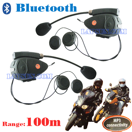 Bluetooth headsets Bike To Bike Intercom Talk