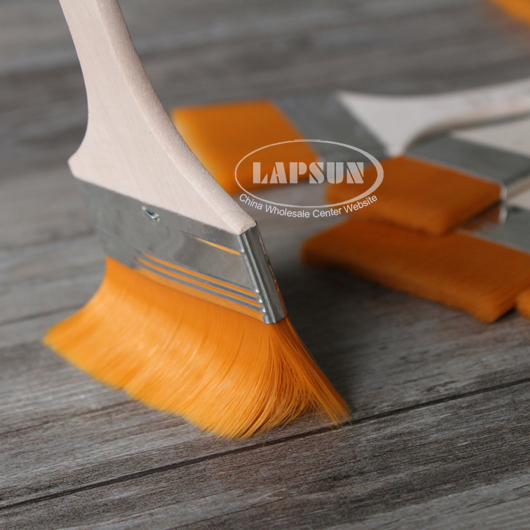 nylon mao banshua oil painting brush bbq clean wooden cleaning pig hair brush au ebay. Black Bedroom Furniture Sets. Home Design Ideas