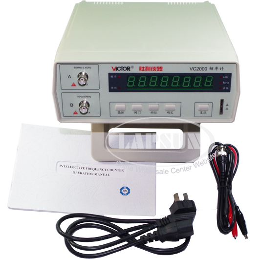 High Frequency Meter : Victor vc radio high frequency counter rf meter hz