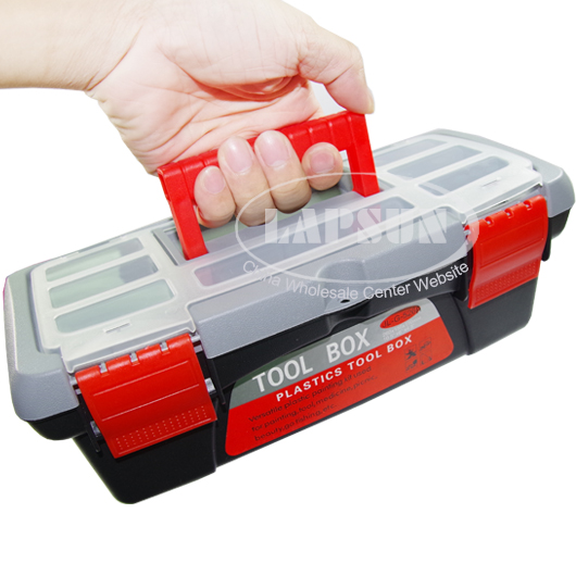 "10"" 250mm Plastic Tool Box Student Handyman Art Craft Storage Garage Case New"