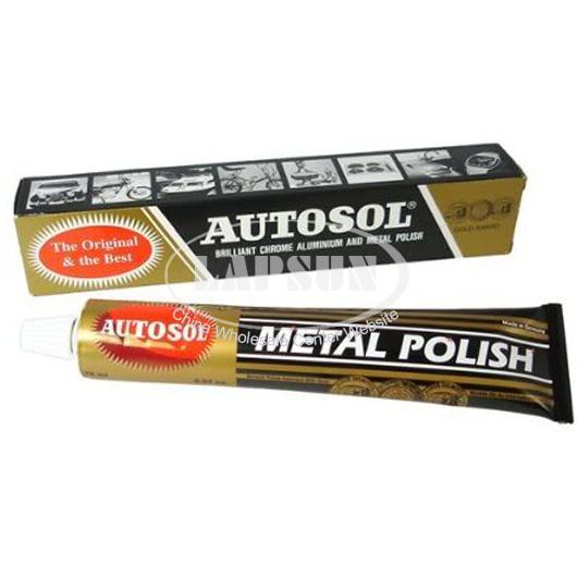 autosol metal polish 75ml tube rust remover chrome cleaner. Black Bedroom Furniture Sets. Home Design Ideas