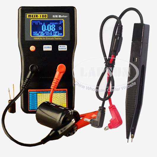 Circuit Tester Equipment : Auto range in circuit esr capacitor meter tester up to
