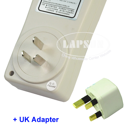 Outlet Wattage Meter : Electric power energy monitoring monitor outlet socket