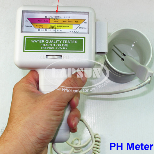 Swimming Pool Water Quality : Ph cl chlorine level meter swimming pool water spa