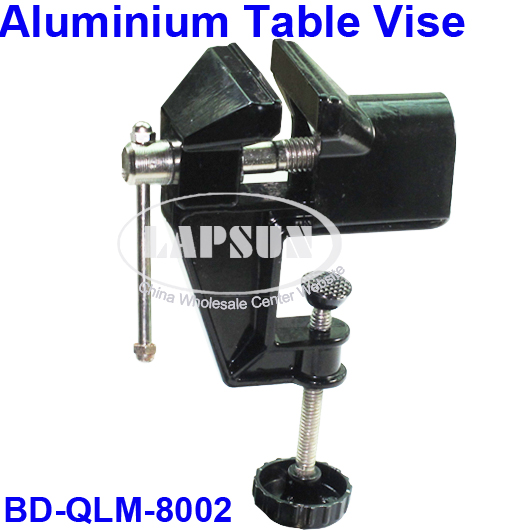 Alloy Aluminium Mini Light Table Bench Vise Vice Clamp Jewelers Work Tool Black  ( zhong hao)