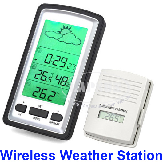 Digital Wireless Weather Station Indoor Outdoor
