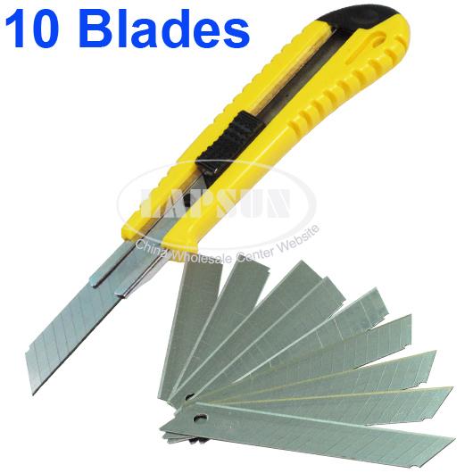 Stanley Quick Point Knife Razor Art Utility Blade 18mm Straight Cutter