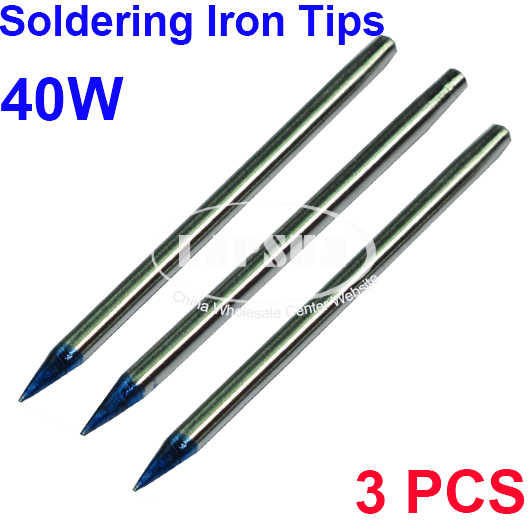 3 pcs diameter fine point solder soldering tip for 40w soldering irons uk ebay. Black Bedroom Furniture Sets. Home Design Ideas