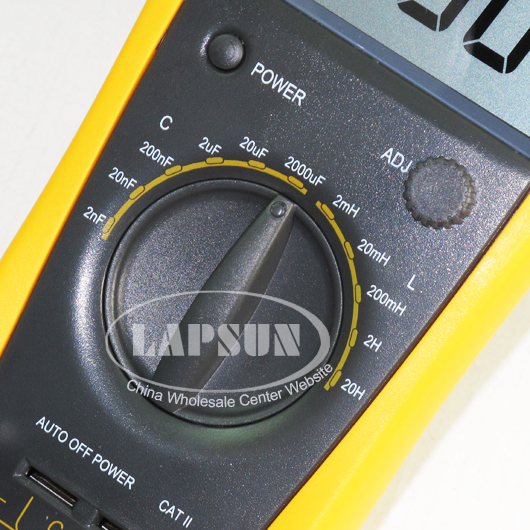 capacitor capacitance digital test multimeter lc meter