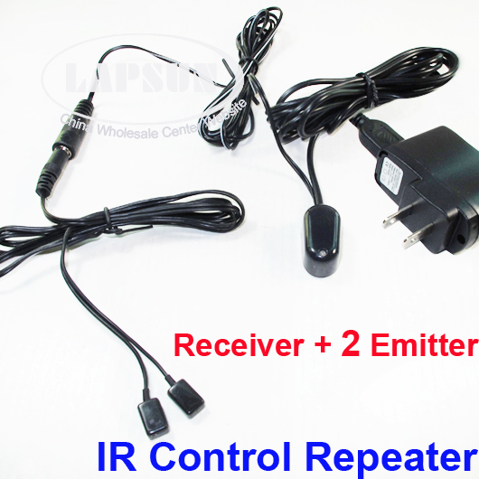 IR Infrared Remote Extender Control System Repeater 2 Eye Emitter Receiver U102
