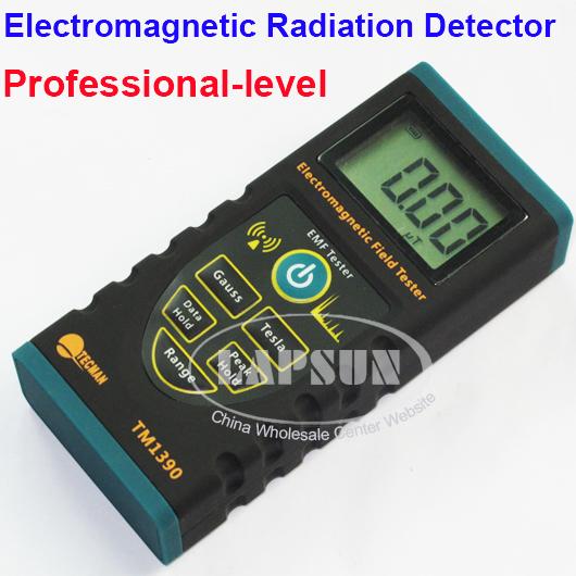 Electromagnetic Radiation Detector EM Meter Dosimeter Field EMF