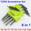 TORX CRV Screwdriver Set