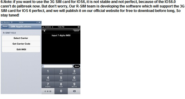 Rsim7 R Sim7 Unlock Card F Iphone 4s Iphone 5 Gsm Ios50511
