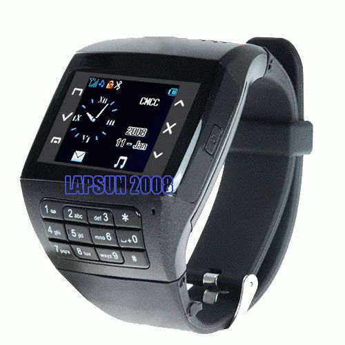 Watch Cell Phone Mobile Quad Band