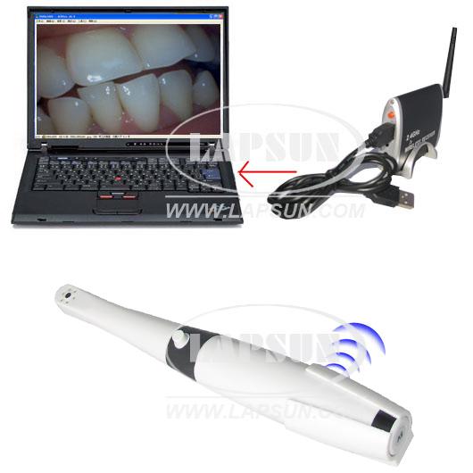 2 4G Wireless Dental Intraoral Camera TV Magnifier NTSC [ls