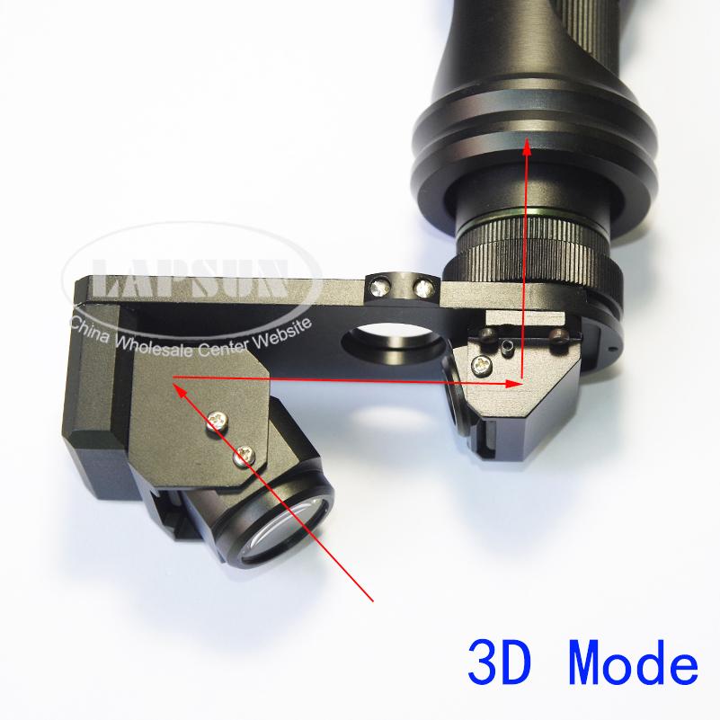 Industrial Style Len 3d stereo 2d 180x zoom c mount lens for digital industrial