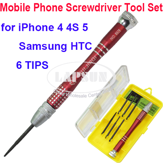 iphone 5 screwdriver size 5 point t5 t6 torx philips screwdriver set kit for 14590